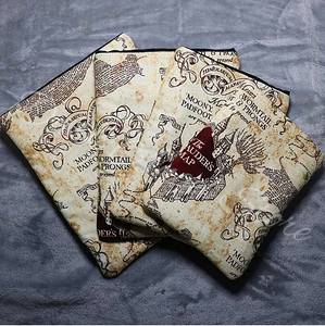 Marauders Map Book Sleeve