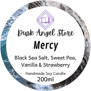 Mercy | House of Salt and Sorrows by Erin A. Craig | 200mL Soy Wax Candle