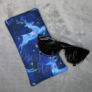 Midnight Stag Sunglasses Pouch