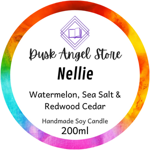 Nellie | Heartstopper by Alice Oseman | 200mL Soy Wax Candle