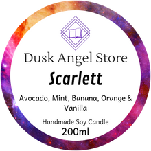 Load image into Gallery viewer, Scarlett | Aurora Rising by Amie Kaufman & Jay Kristoff | 200ml Soy Wax Candle