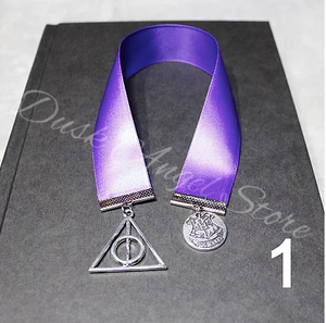 Satin Ribbon Harry Potter Bookmarks