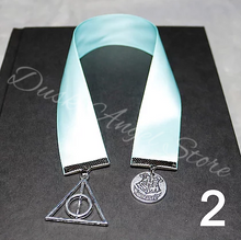 Load image into Gallery viewer, Satin Ribbon Harry Potter Bookmarks