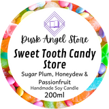 Sweet Tooth Candy Store | The Medoran Chronicles by Lynette Noni | 200ml Soy Wax Candle