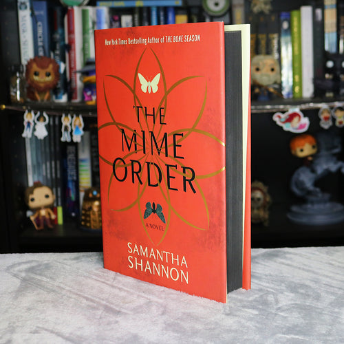 Black Sprayed Edged | The Mime Order