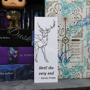 Until the Very End | Harry Potter | Bookmark