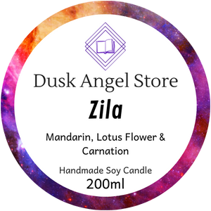 Zila | Aurora Rising by Amie Kaufman & Jay Kristoff | 200ml Soy Wax Candle