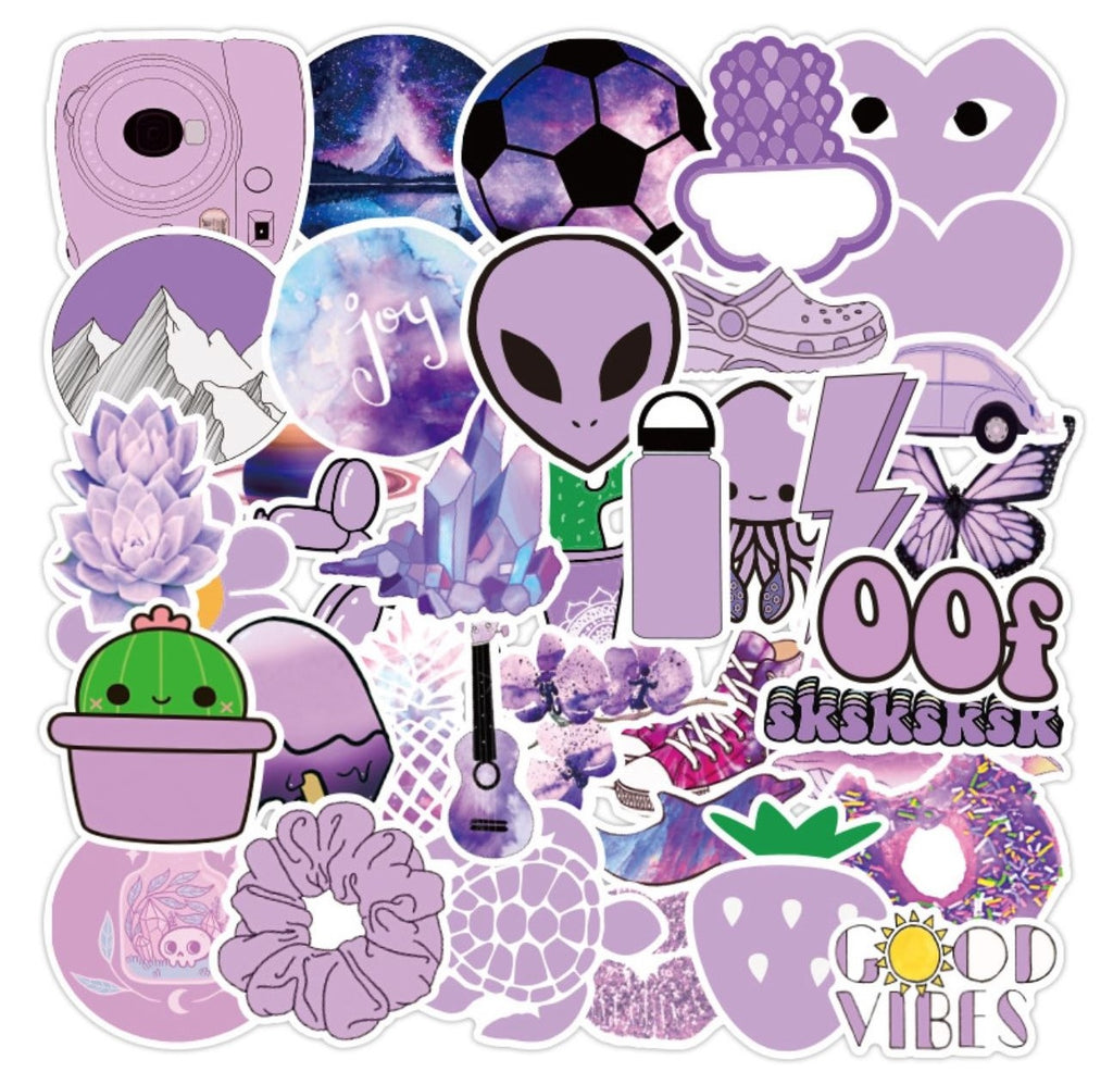 Baby Purple VSCO Stickers
