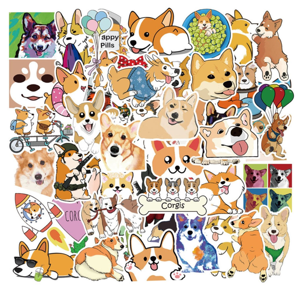 Corgi VSCO Stickers