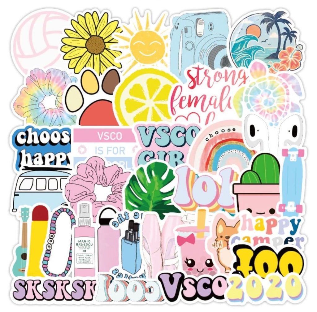 Happy VSCO Stickers