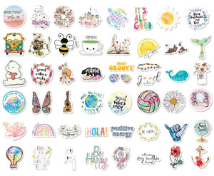 Hippie VSCO Stickers
