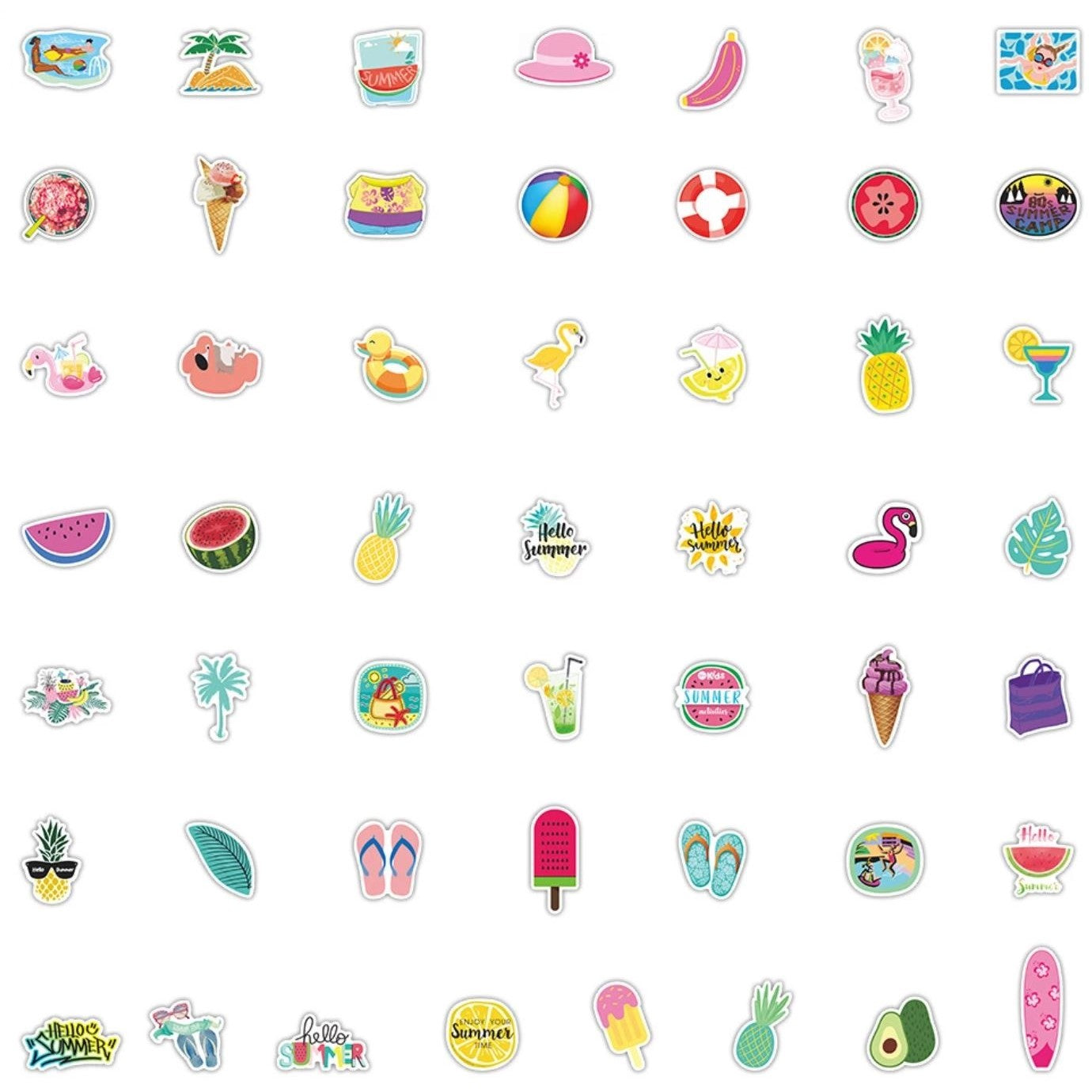 Summer VSCO Stickers