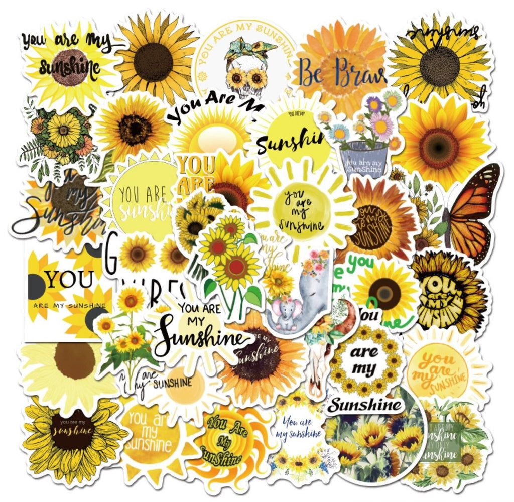 Sunflower VSCO Stickers