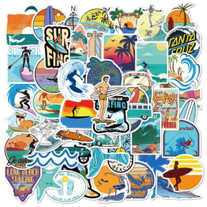 Surfing VSCO Stickers