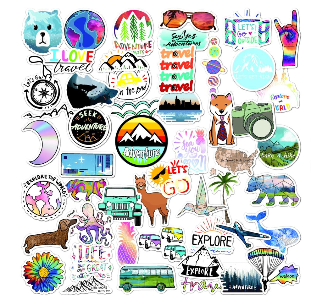 Adventure VSCO Stickers