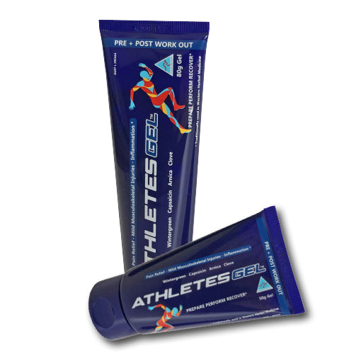 Athletes Gel 2.8oz (80g) & 1.8oz (50g)