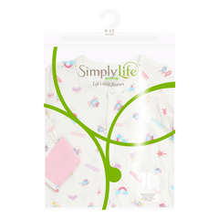 SL poly zip lock bag with hook