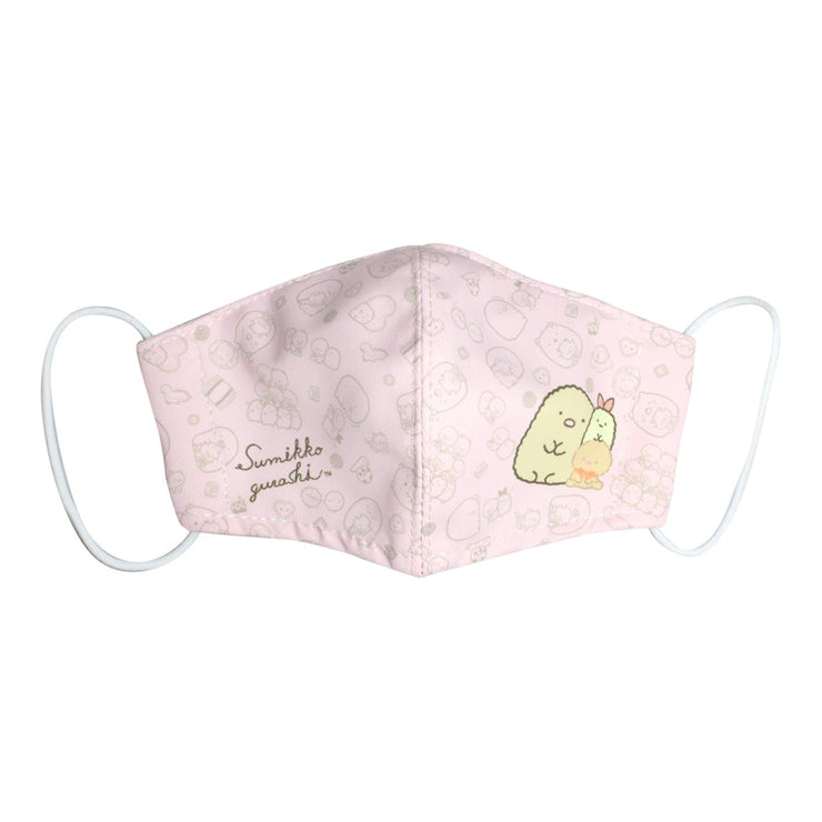 Reusable 3D Face Mask with Pouch & Filters (Children) - Sanrio Sumikkogurashi™