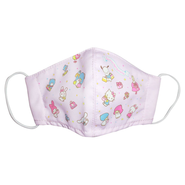 Reusable 3D Face Mask with Pouch & Filters (Children) - Sanrio© Characters