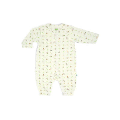 3 Little Lambs Blessed - Long-sleeved Button Front Sleepsuit with NO Footie by simplylifebaby