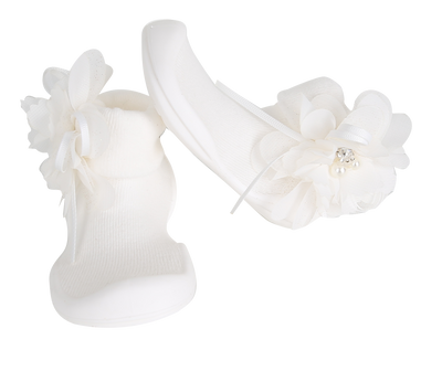 Ggomoosin - Angel (White) Baby Shoes