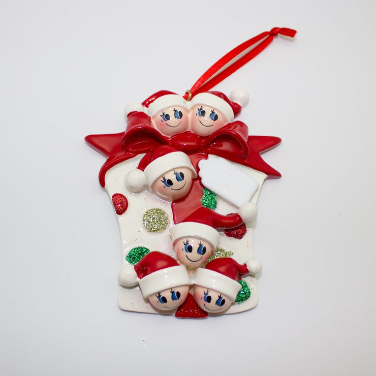 Present Glitter - Christmas Ornament (Suitable for Personalization)