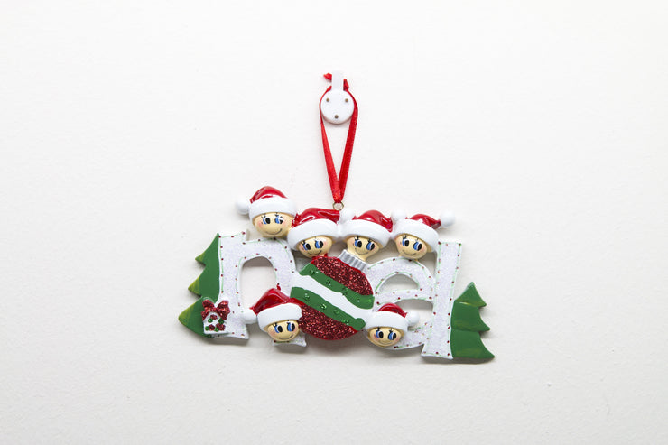 Noel Glitter - Christmas Ornament (Suitable for Personalization)