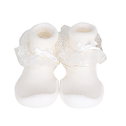 Ggomoosin - Princess (White)  Baby Shoes
