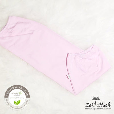 Pink - Baby Bamboo Bolster Cover (Simply Life x Le Husk)