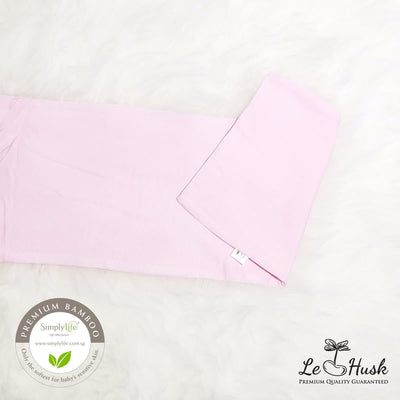 Pink - Bamboo Pillow Cover (Simply Life x Le Husk)