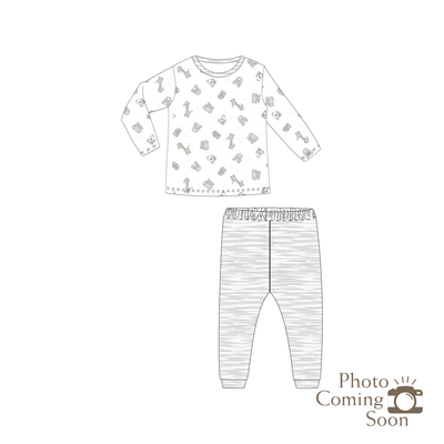 Jungle -  Long-sleeve Pyjamas Set