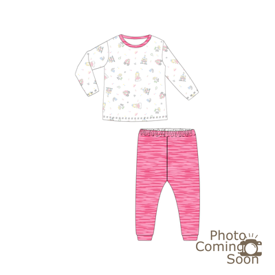 Princess 2 - Pyjamas Set (Sandwash Pink)