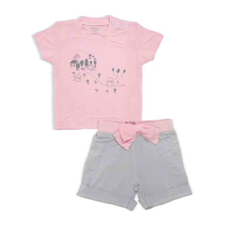 Adorable Lamb - Shorts & Tee set by simplylifebaby
