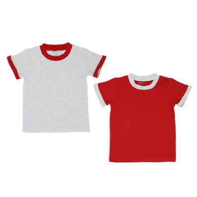 Basic Tee with folded sleeves (pack of 2) - Simply Life