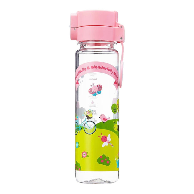 Beautifully Made - 600 ml Water Bottle with push cap - Simply Life