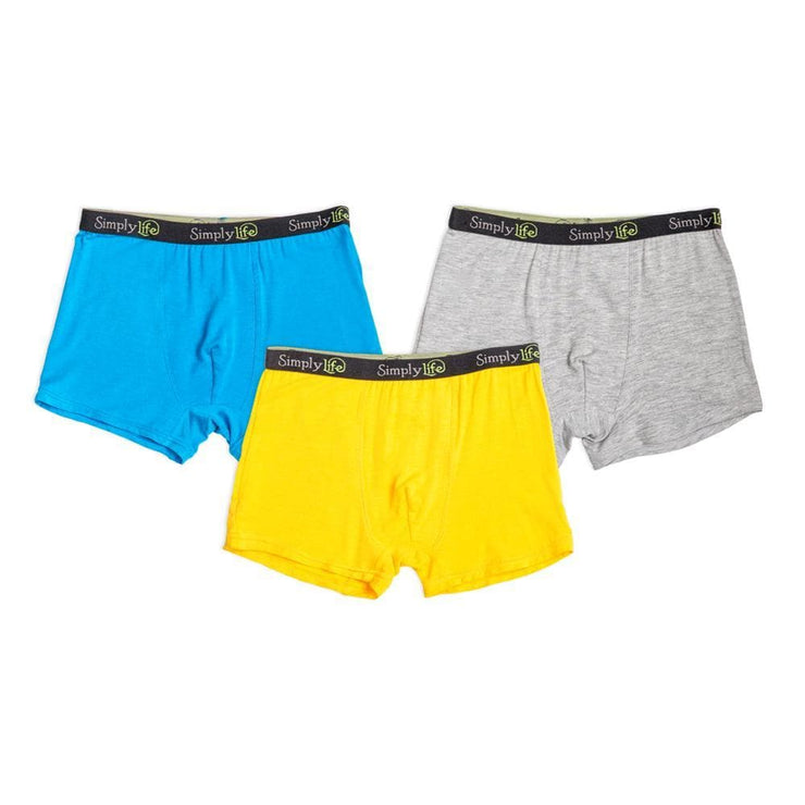 Boys Boxer Briefs (3-Pack Set) by simplylifebaby