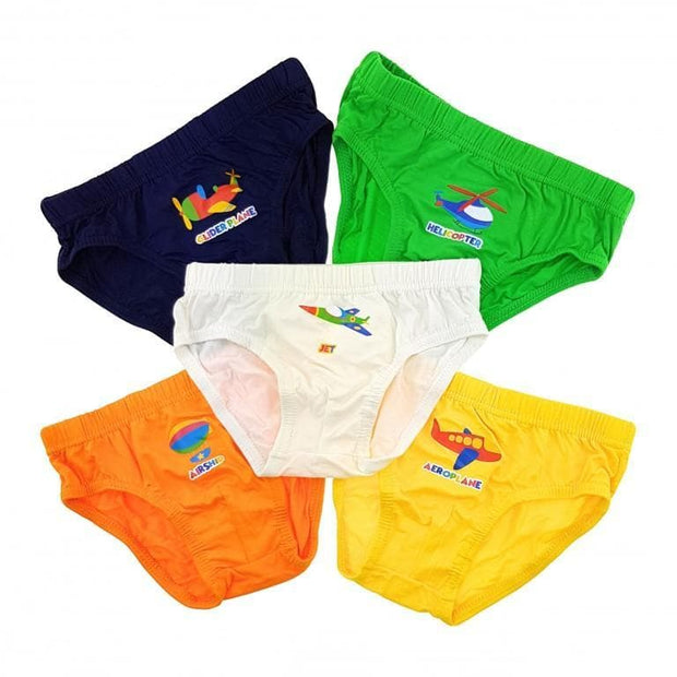 Boys Briefs - Planes (5-Pack Set) by simplylifebaby