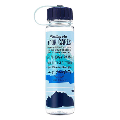 Cast your Cares - 600 ml Bottle with Screw Lid - Simply Life