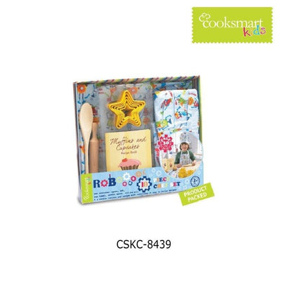 Cooksmart - Boys Chef Set (robot), 10 Piece - Simply Life