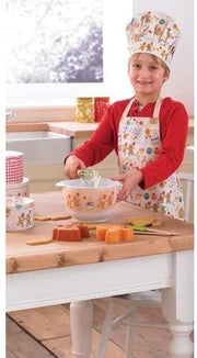 Cooksmart - Kids Gingerbread 3-Piece Apron, Hat and Tea Towel Set - Simply Life