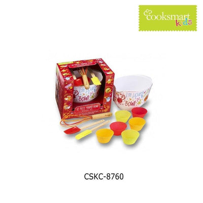 Cooksmart - Kids I'M Licking The Bowl 10-Piece Mixing Bowl Set - Simply Life