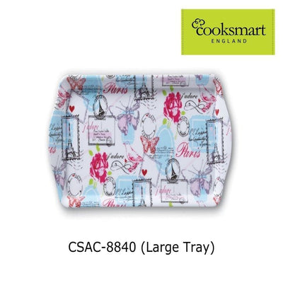 Cooksmart - Parisienne Design Large Melamine Tray - Simply Life
