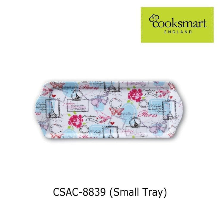 Cooksmart - Parisienne Design Small Melamine Tray - Simply Life