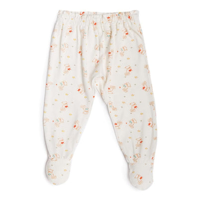 Crowned Lamb - Long Pants with Footie by simplylifebaby