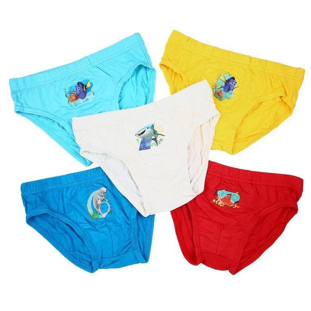 Disney Finding Dory - Boys Briefs (5-Pack Set) by simplylifebaby