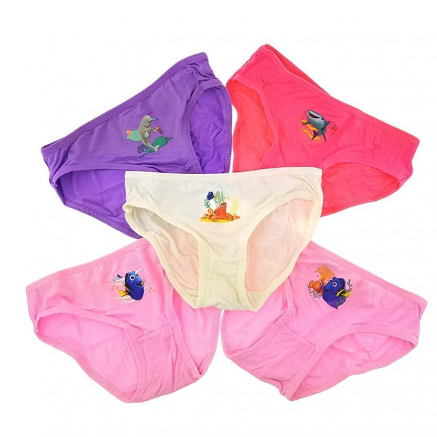 Disney Finding Dory - Girls Innerwear (5-Pack Set) by simplylifebaby