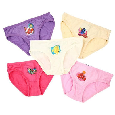 Disney Finding Nemo - Girls Innerwear (5-Pack Set) by simplylifebaby