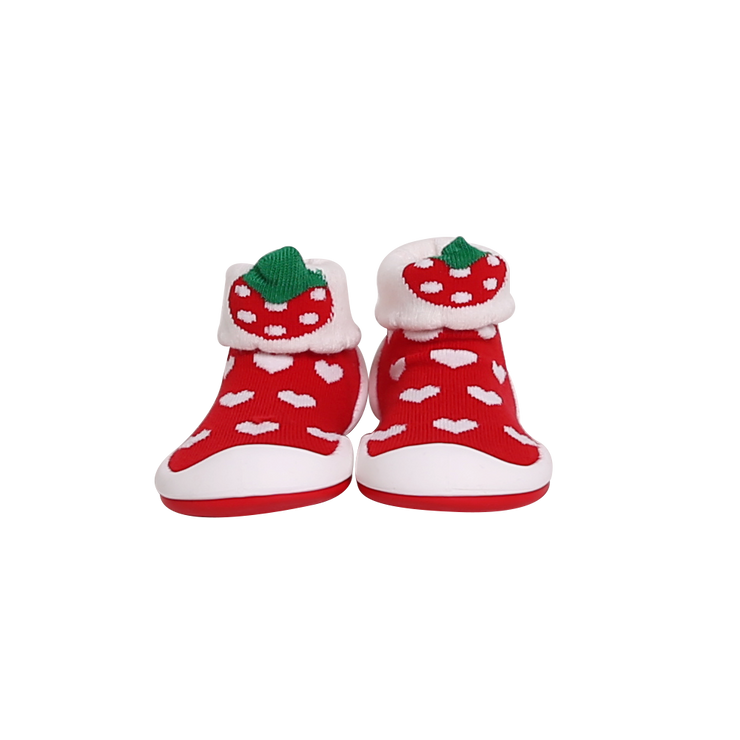 Ggomoosin - Strawberry Baby Shoes