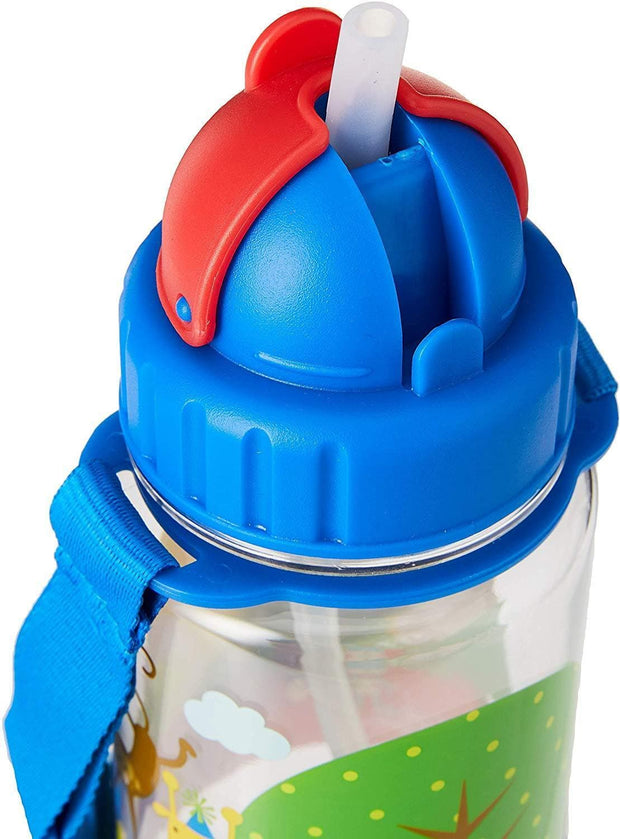 Favoured - 350 ml Water Bottle with Straw Lid and Strap - Simply Life