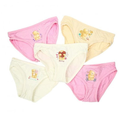 Forever Friends - Girls Innerwear (5-Pack Set) by simplylifebaby